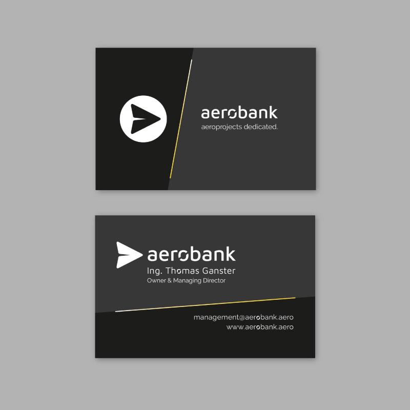 aerobank visitenkarten